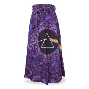 Pink Floyd Purple Lyric Skirt