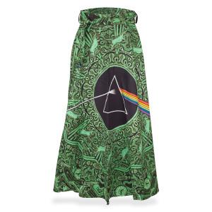 Pink Floyd Green Lyric Skirt