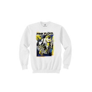 Pink Floyd Live at Knebworth 1990 White Crewneck