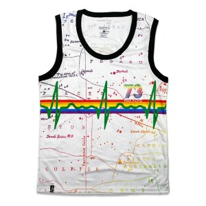 Pink Floyd Dark Side of the Moon White Jersey