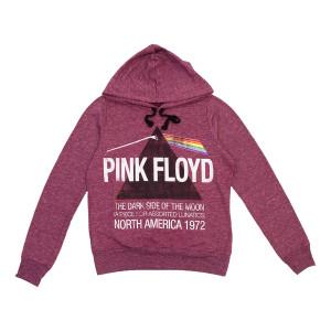 Pink Floyd Maroon Hoodie
