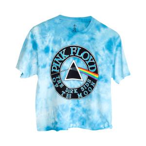 Pink Floyd Juniors Blue Ice Crop Top