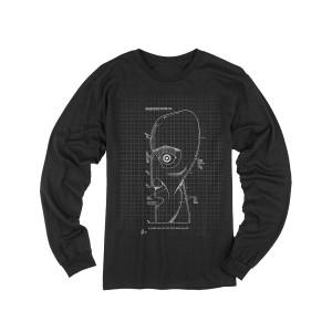 The Later Years Schematics Black Longsleeve T-shirt