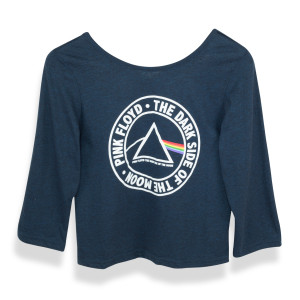 Pink Floy Dark Side of the Moon Circle Logo Triangle
