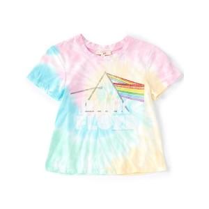 Pink Floyd Prism Tie Dye Girls T-shirt