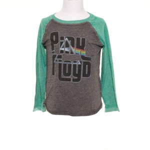 Kid's Green Sleeve Prism Fill Raglan T-Shirt