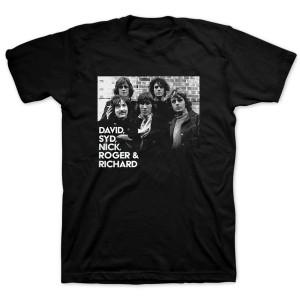 Pink Floyd Five Piece Black T-shirt