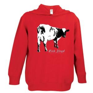 Atom Heart Cow Youth Hoodie