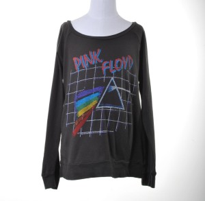 Girls Long Sleeve Gridded Prism T-Shirt