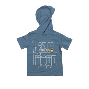 Kid's Aqua Hooded T-Shirt