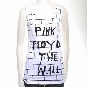 Women's Wall Brick Print Tank Top