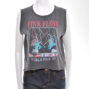 Women's World Tour '87 Sleeveless Crop Top