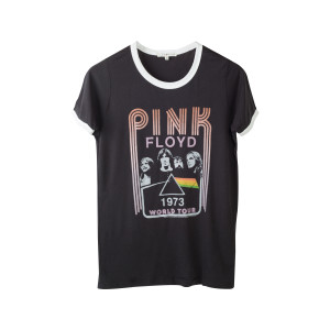 Pink Floyd Women's '73 World Tour Ringer T-Shirt