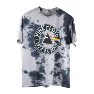 Pink Floyd Grey Tie Dye 1973 Tour T-Shirt