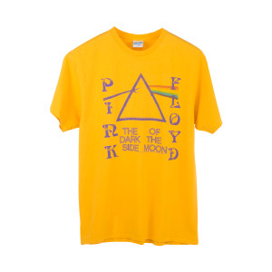 Pink Floyd Vintage Yellow T-Shirt