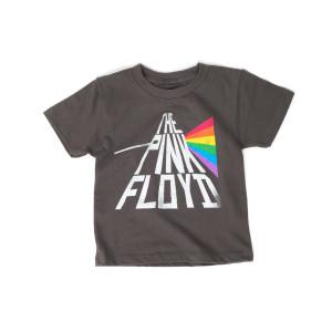 The Pink Floyd Rainbow Kids Grey T-Shirt