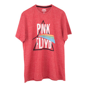 Pink Floyd Red Dark Side Prism T-Shirt