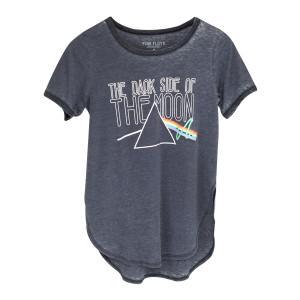 Pink Floyd Dark Side Heartbeak Prism Logo Blue T-Shirt