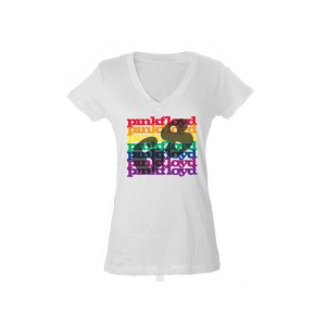 Women's V- Neck Rainbow '68 T-Shirt
