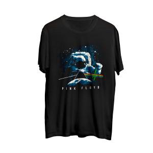 Pink Floyd Dark Side of the Moon Spaceman Black T-shirt