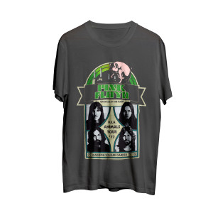 Animals Tour '77 Charcoal T-shirt