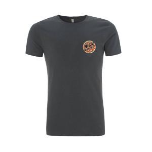 Nick Mason's Saucerful Of Secrets 2018 Tour Left Logo Grey Tour T-Shirt