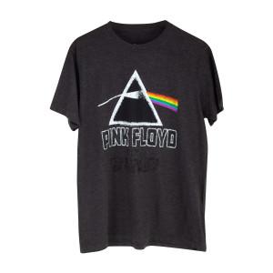 Pink Floyd The Dark Side Of The Moon Rainbow Logo Black T-shirt