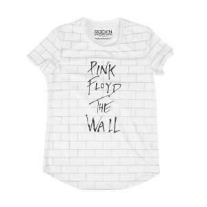 Pink Floyd The Wall White Athletic T-Shirt