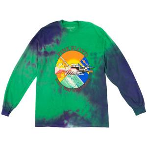 Pink Floyd Wish You Were Here Green Tie Dye Longsleeve