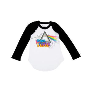Pink Floyd Rainbow Logo Youth Raglan