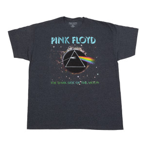 Dark Side of the Moon Black Hole Prism T-shirt