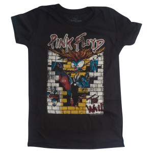The Wall Women's Distressed Boyfriend T-Shirt