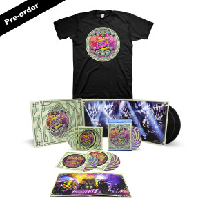 Nick Mason's Saucerful of Secrets Live at the Roundhouse Set List Tee + Choice of Media Bundle
