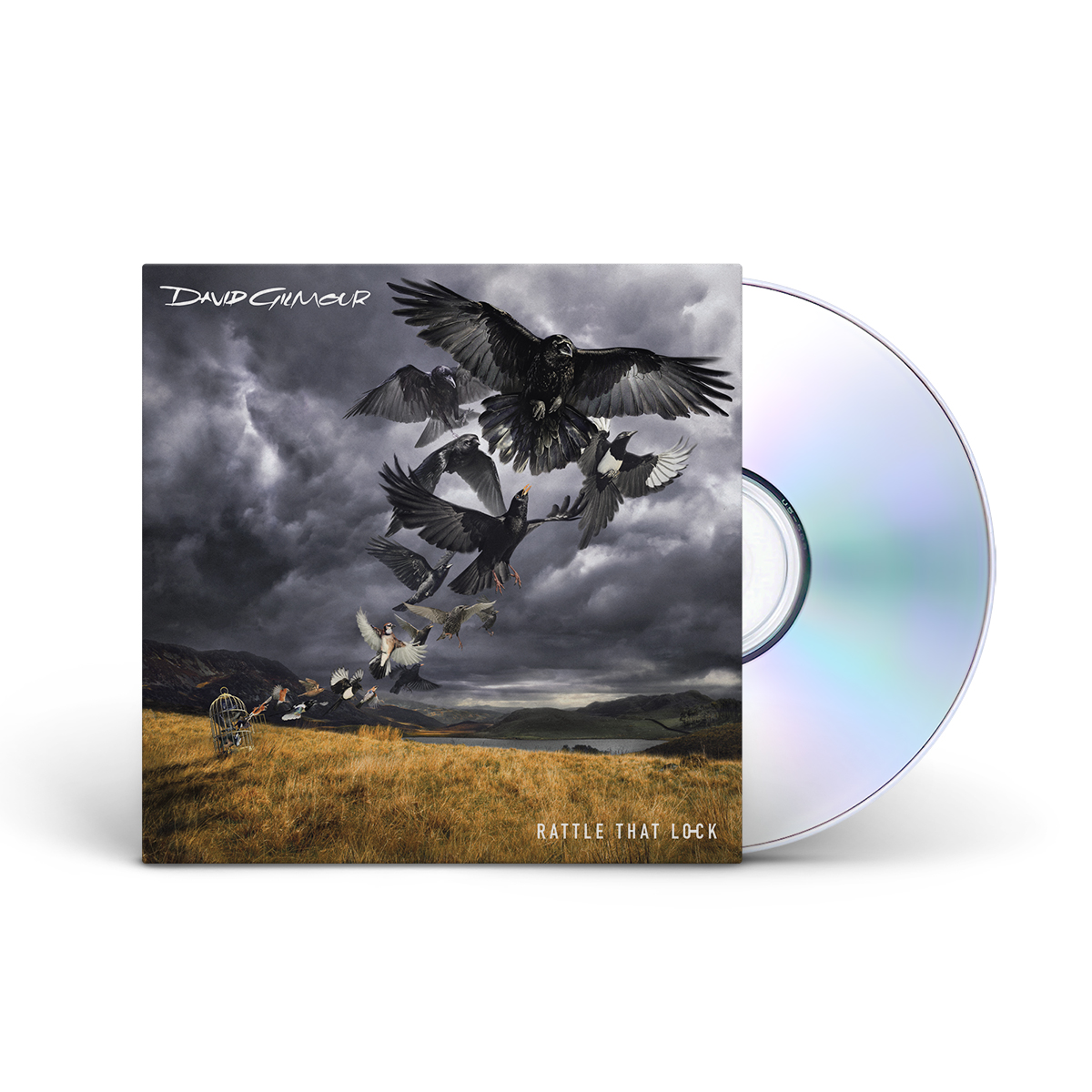 David Gilmour Rattle That Lock CD