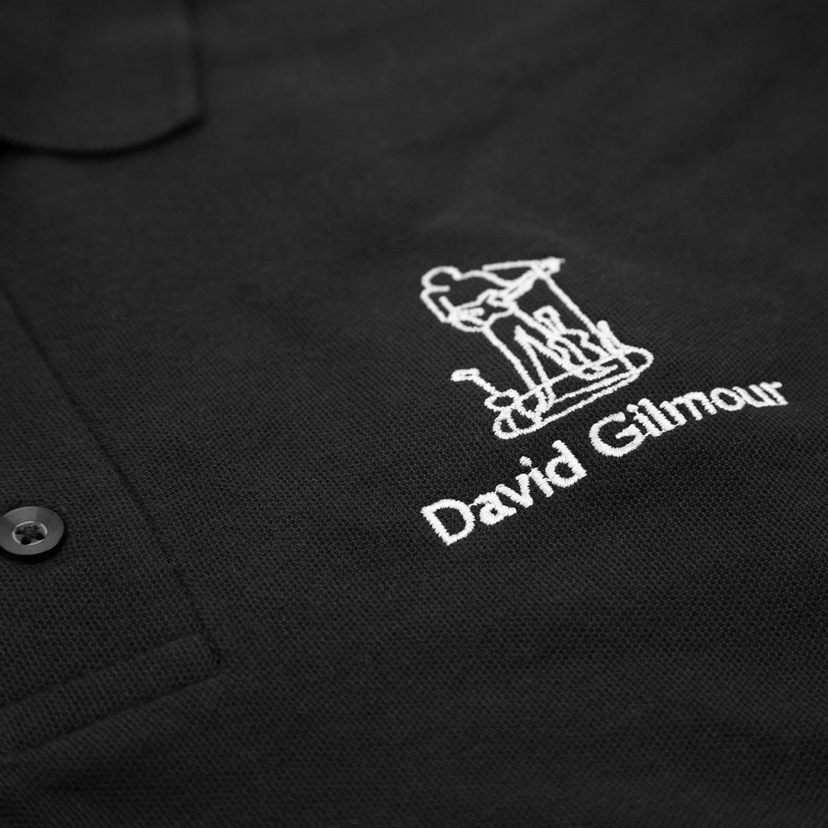 David Gilmour Guitar Embroidered Polo