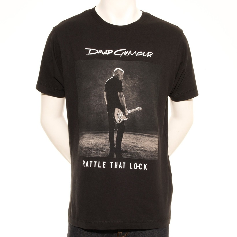 Rattle That Lock Sepia Photo European Tour T-Shirt