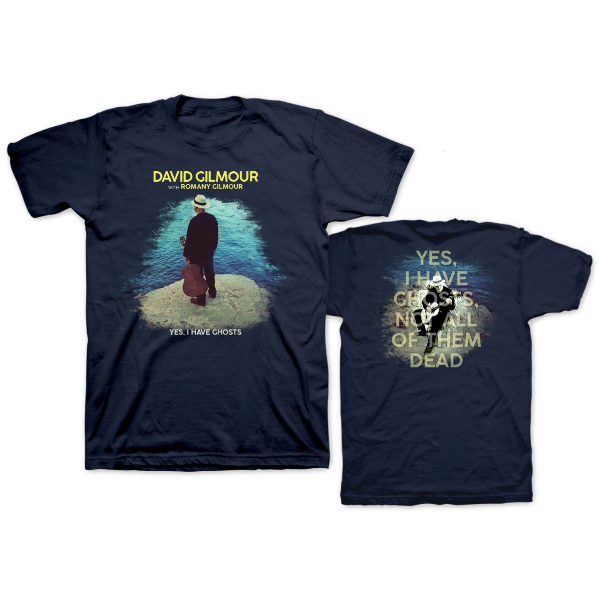 David Gilmour Yes, I have Ghosts Navy T-shirt