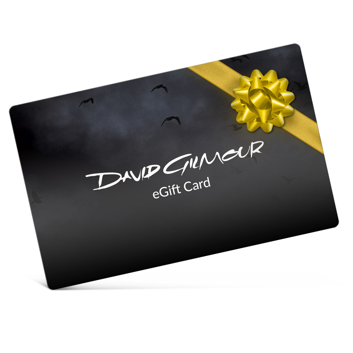 David Gilmour Electronic Gift Certificate