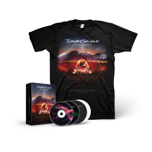 Live At Pompeii - Deluxe Edition 2-CD/2 Blu-Ray Boxset + T-Shirt Bundle