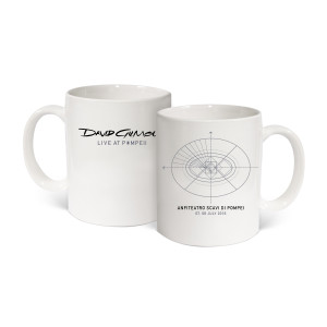 David Gilmour Live At Pompeii Coffee Mug