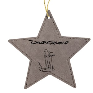 Wireman Star Leatherette Ornament