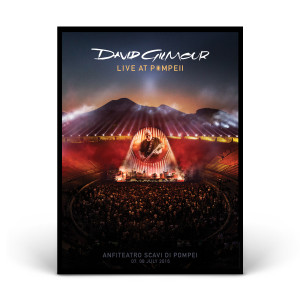 David Gilmour Live At Pompeii Lithograph
