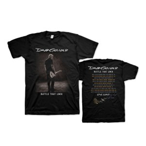 Rattle That Lock Sepia Photo US Tour T-Shirt