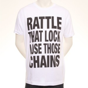 Lose Those Chains European Tour T-Shirt