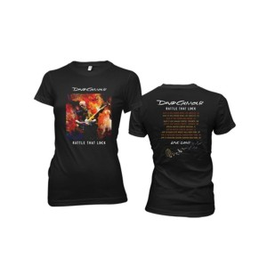 Women's Rattle That Lock Brushstroke US Tour T-Shirt