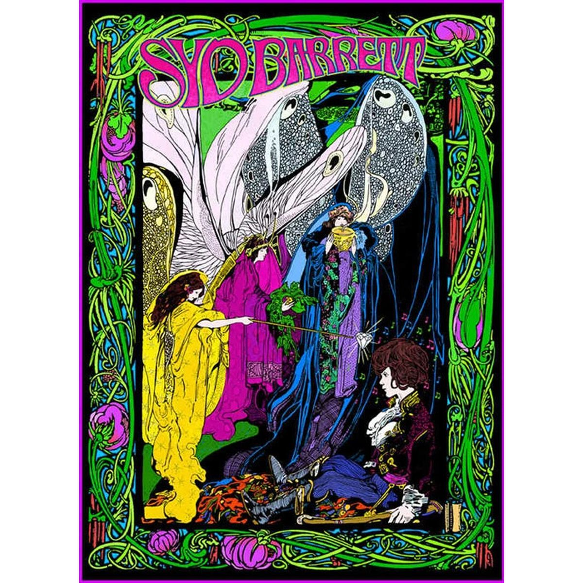 Syd Barrett Bob Masse Poster