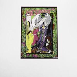 Signed Bob Masse Faerie Poster