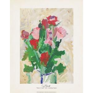 Rose In A Vase 11x14