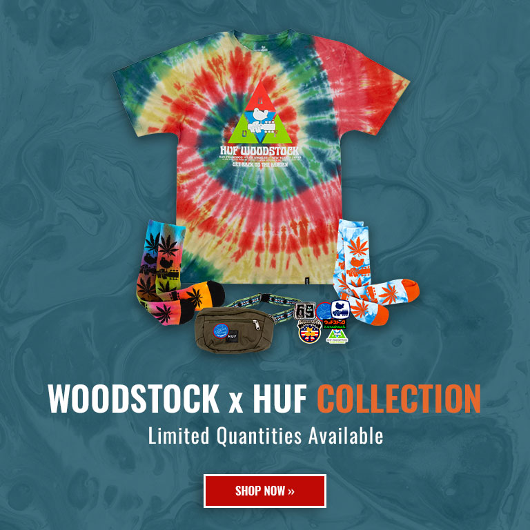 Woodstock x HUF Collection