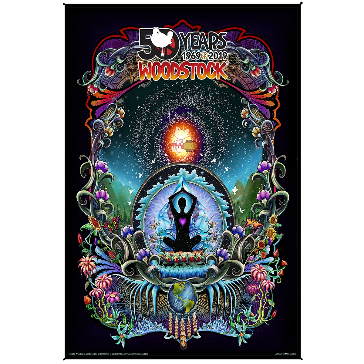 We Are Stardust 50th Anniversary Tapestry